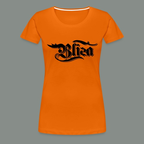 schwarz spezial - Frauen Premium T-Shirt