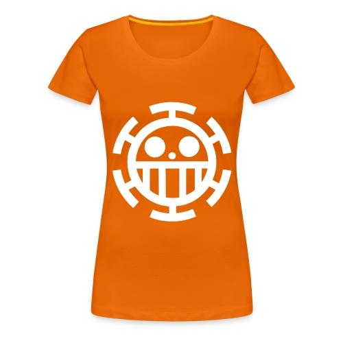 jollylogowhite - Women's Premium T-Shirt