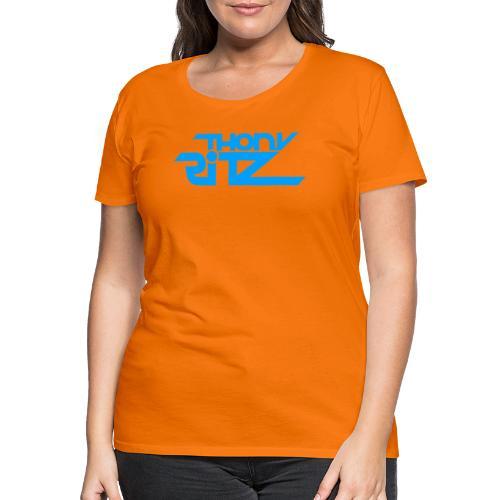 TR Logo Blue - T-shirt Premium Femme
