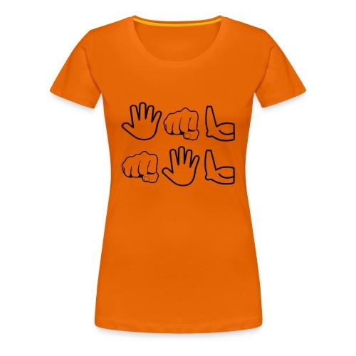 De Leyaro T-shirt lange mouwen - Vrouwen Premium T-shirt