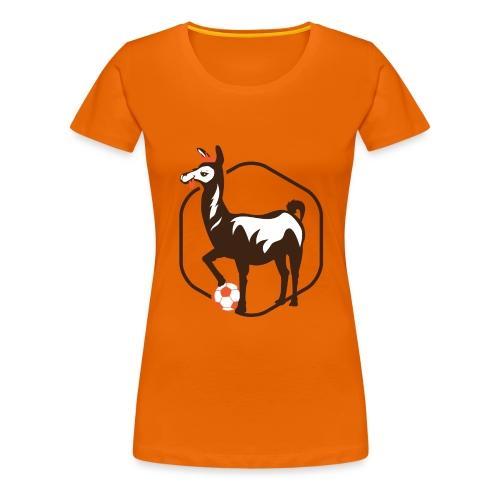 Llama logo - Women's Premium T-Shirt