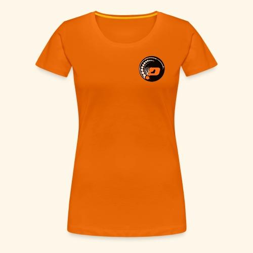 Planet Underground Round Logo - Women's Premium T-Shirt