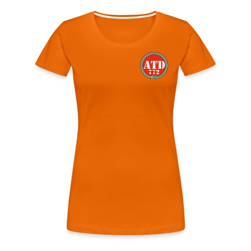 Logo Advanced Training Detachment 772 - Maglietta Premium da donna