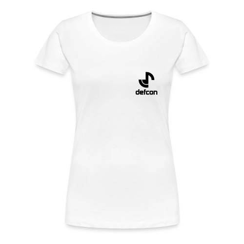 defcon logo and text vector2 - Women's Premium T-Shirt