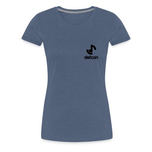 defcon logo and text vector2 - Women's Premium T-Shirt