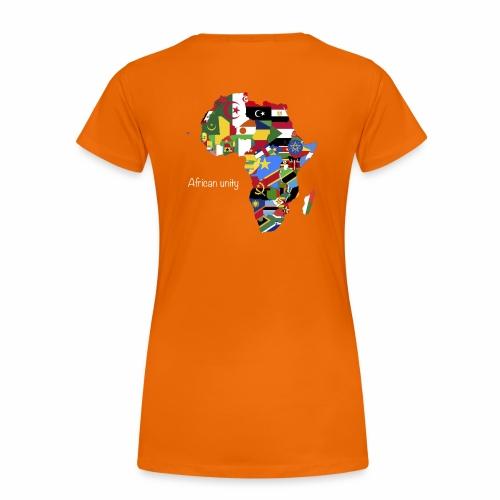 African Unity «Gorille » - T-shirt Premium Femme