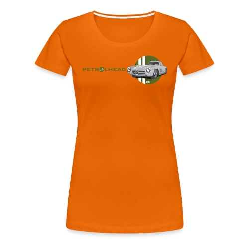 Petrolhead »300SL Gullwing« - Frauen Premium T-Shirt