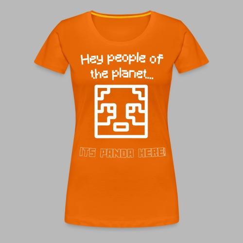 PlanetPanda Stroke - Women's Premium T-Shirt
