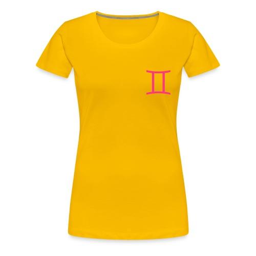 Gemelli - Maglietta Premium da donna