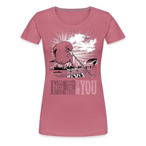 IfIWereYou print3 png - Dame premium T-shirt