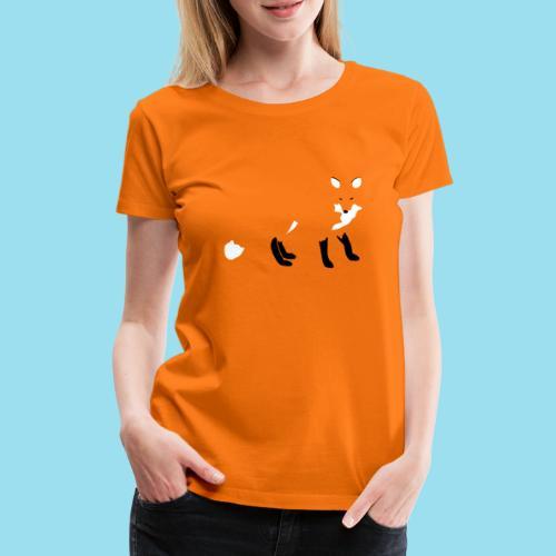 FOX LURK - Frauen Premium T-Shirt