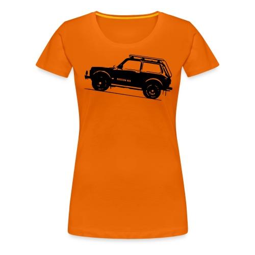 Lada Niva 2121 Russin 4x4 - Frauen Premium T-Shirt