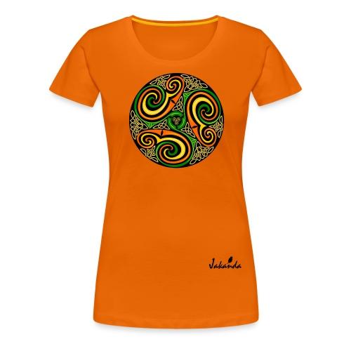 logo jakanda ii - Frauen Premium T-Shirt