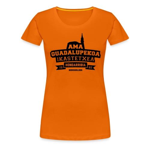 Ama Guadalupekoa Ikastetxea - Camiseta premium mujer