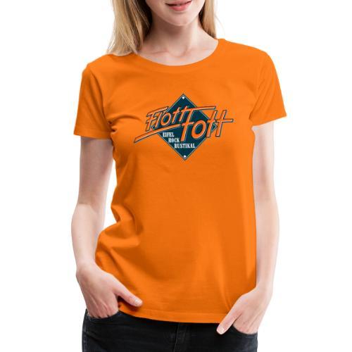 Die Flott Fott Klassiker.... - Frauen Premium T-Shirt