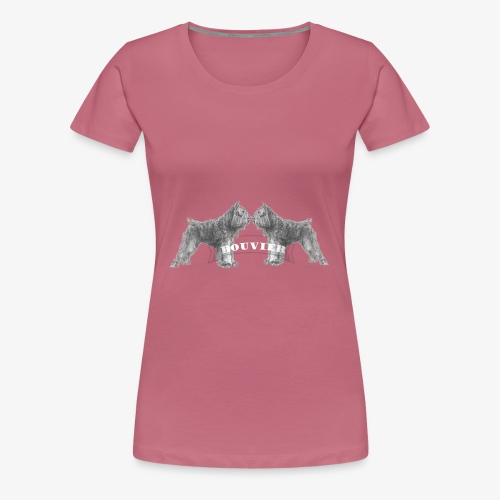 Bouvier 2 - Vrouwen Premium T-shirt
