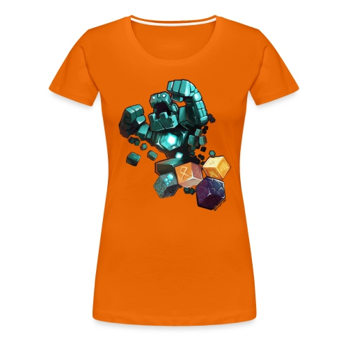 BDcraft Golem - Women's Premium T-Shirt