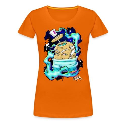 Spray Genius - Graffiti character design - T-shirt Premium Femme