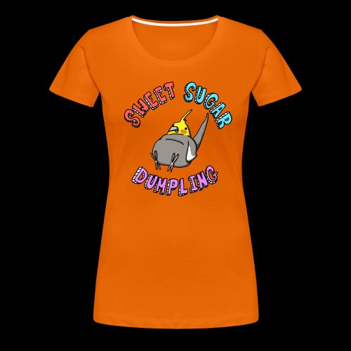 Sweet Sugar Dumpling Cockatiel - Women's Premium T-Shirt