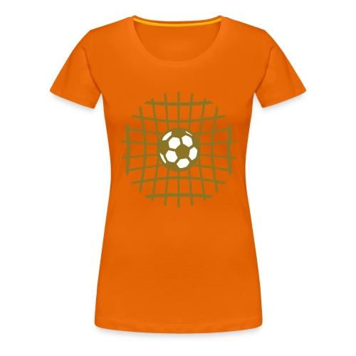 goal voetbal - Vrouwen Premium T-shirt