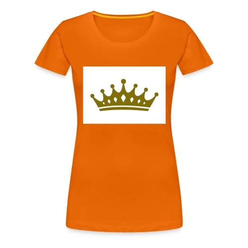 Kongen - Premium T-skjorte for kvinner