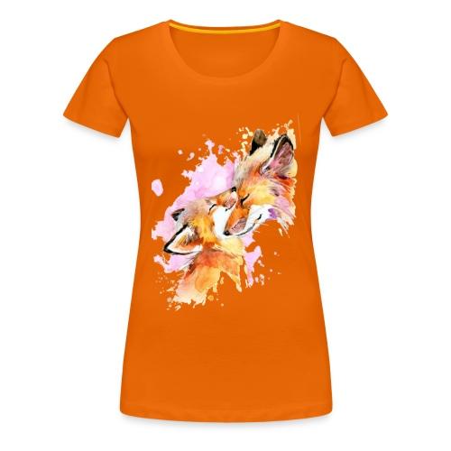Love my fox - T-shirt Premium Femme