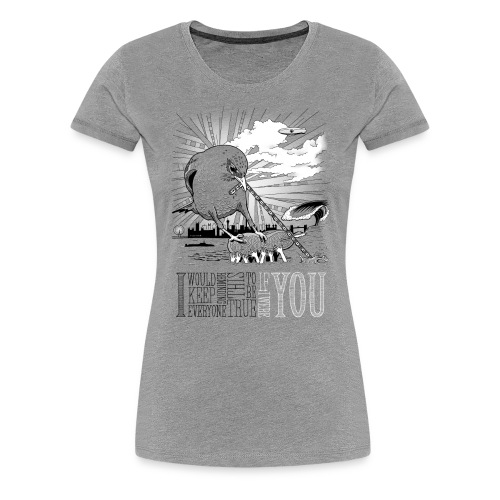 If I Were You - Dame premium T-shirt