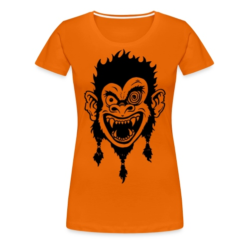 Crazy Monkey - Frauen Premium T-Shirt
