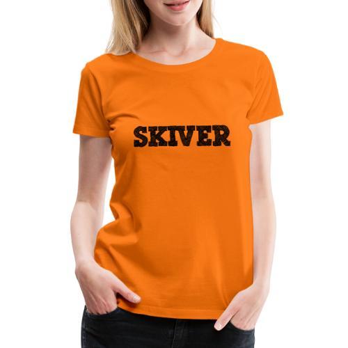 Skiver - Women's Premium T-Shirt