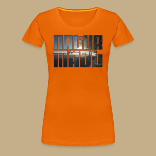 Naturmädl Ice - Frauen Premium T-Shirt