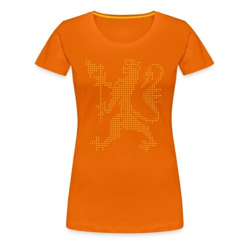 Den norske løve - Premium T-skjorte for kvinner