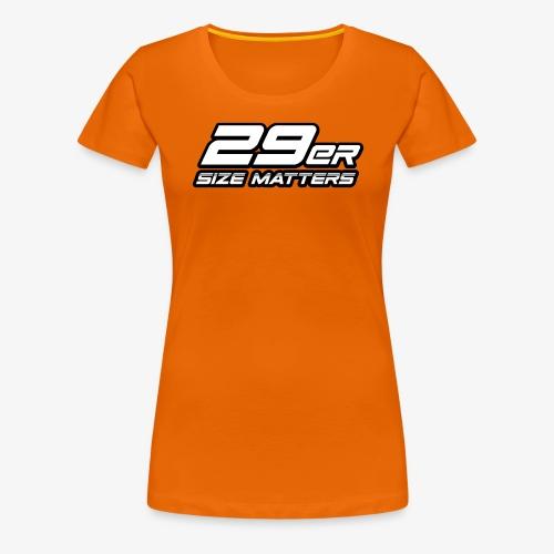 29er size matters - Women's Premium T-Shirt