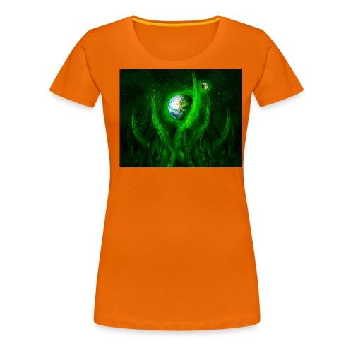Cthulhu Rising - Frauen Premium T-Shirt