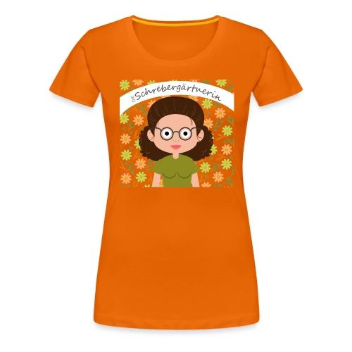 Die Schrebergärtnerin - Frauen Premium T-Shirt
