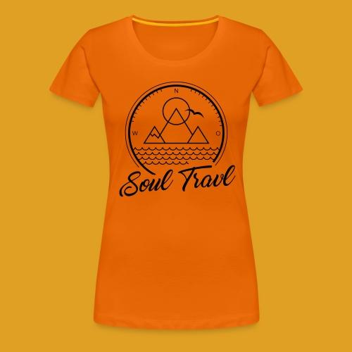 SoulTravl - Frauen Premium T-Shirt