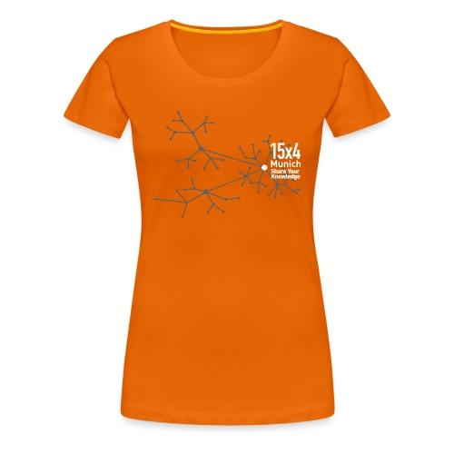 Neurons - Frauen Premium T-Shirt