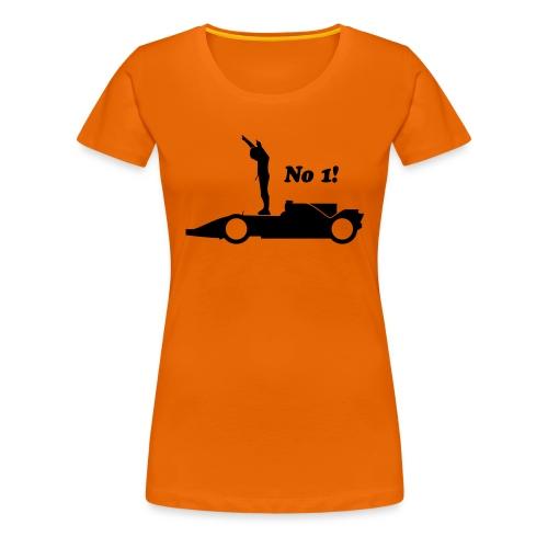Winnaar eerste plaats - Vrouwen Premium T-shirt
