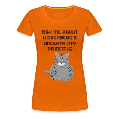 The Uncertain Cat - Women's Premium T-Shirt