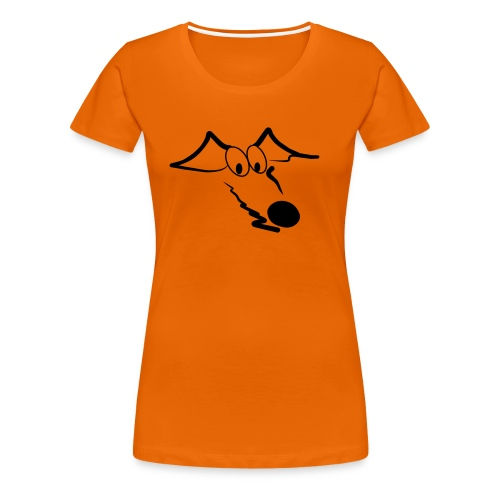 Whippet - Frauen Premium T-Shirt