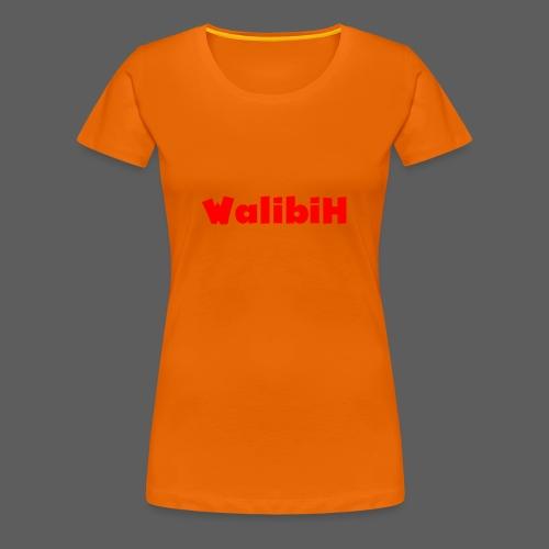 walibih - Vrouwen Premium T-shirt