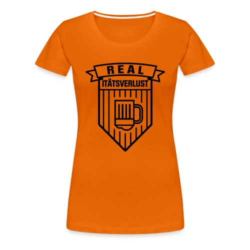 Real Logo - Frauen Premium T-Shirt