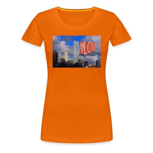 NY LOVE - T-shirt Premium Femme