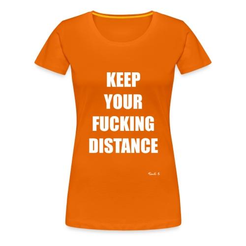 DISTANCE - Women's Premium T-Shirt
