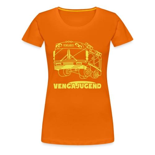 Vengajugend Logo - Frauen Premium T-Shirt