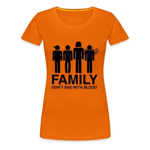 Family (light) Hoodies & Sweatshirts - Women's Premium T-Shirt