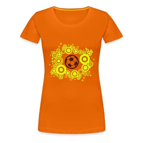 Voetbal Cirkels 2C - Vrouwen Premium T-shirt