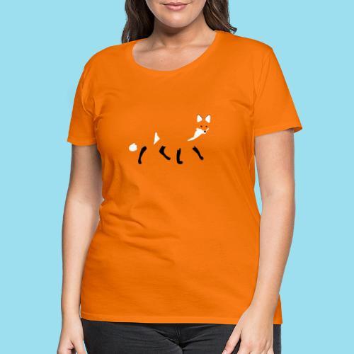 FOX WALK - Frauen Premium T-Shirt