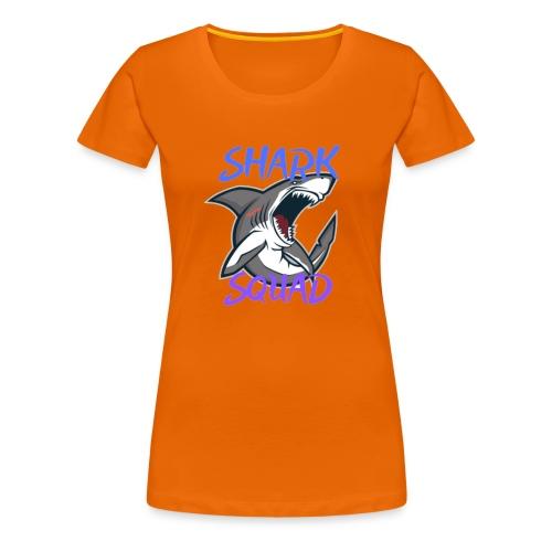 Shark Squad - PowerMEGAL0D0N - T-shirt Premium Femme