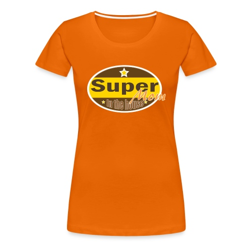Super Mom - Vrouwen Premium T-shirt
