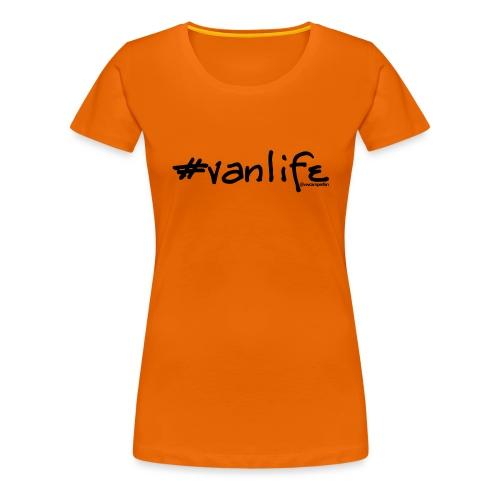 vanlife black - Women's Premium T-Shirt
